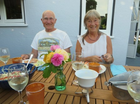 Culinary Delights on the Deck