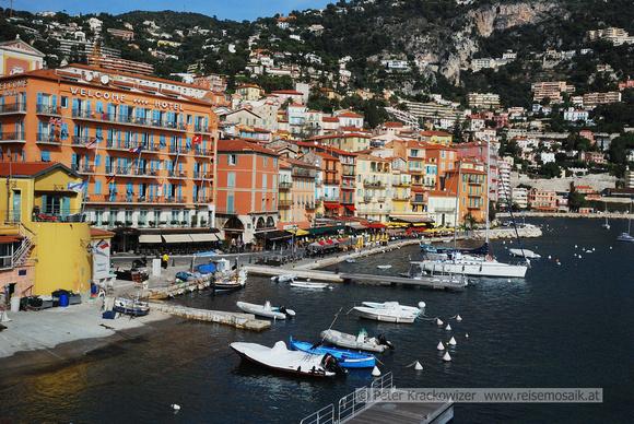 Villefranche-sur-Mer, Riviera Côte d'Azur, Südfrankreich
