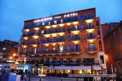 Hotel Welcome in Villefranche-sur-Mer, Südfrankreich, Riviera Côte d'Azur
