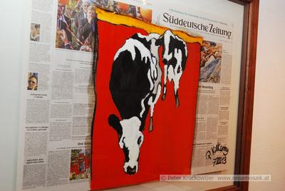 """Fronfeste Ausstellungseröffnung """"Das geht auf keine Kuhhaut"""""""
