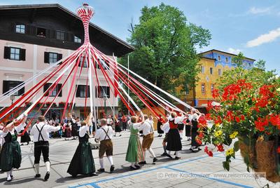 Bandltanz Heimatverein Edelweiß Neumarkt am Wallersee