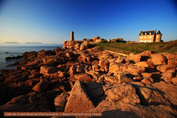 Côte de Granit Rose, Bretagne