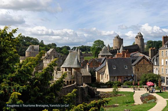 Fougères Bretagne Frankreich