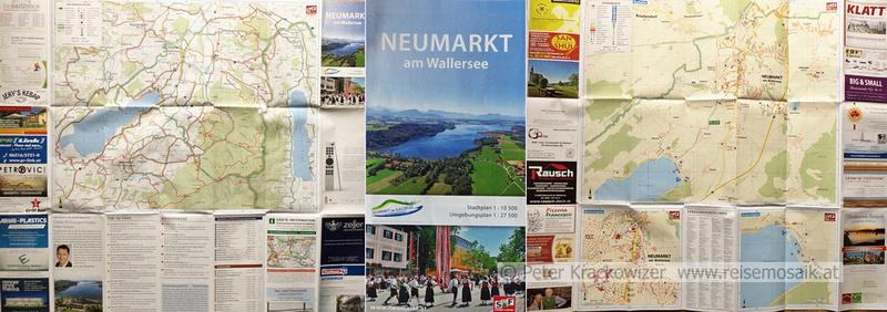 Vorne und hinten und mittendrin: Neumarkter Stadtplan 2017