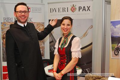 Benediktinerstift Admont MMag. P. Maximilian Schiefermüller OSB und Slivia Karina Bauer BA, Leitung Tourismus