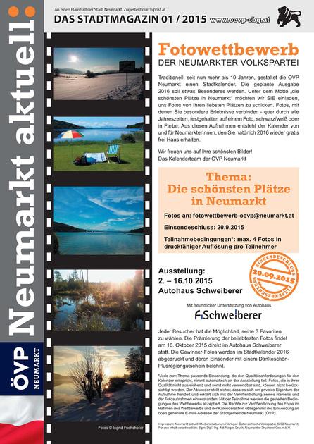 Fotowettbewerb  Neumarkt am Wallersee