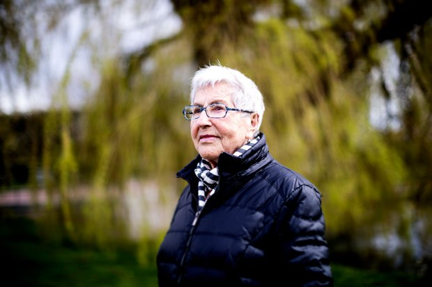 Leia Gleitman överlevde förintelsen
