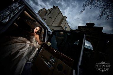 Wedding photographer Sopwell house front door