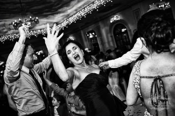 Documentary wedding photographer London - woman dancing