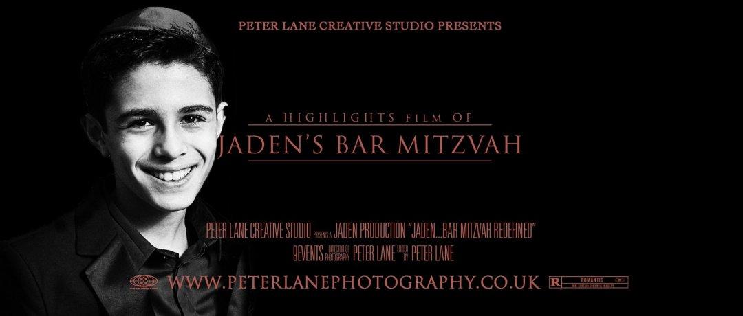 Bar Mitzvah videographer Finchley
