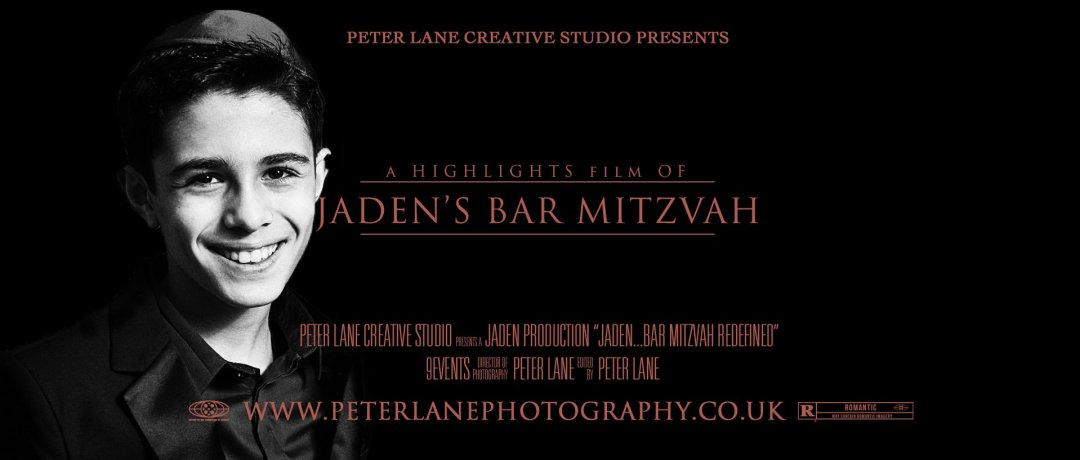 Bar Mitzvah videographer Finchley