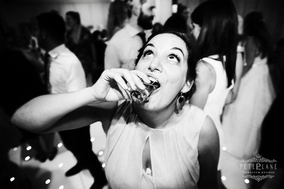 jewish wedding videographer London wedding cinematic video girl drinking