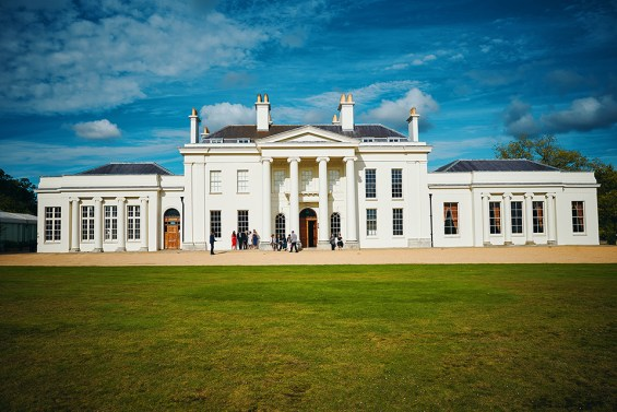 Hylands House wedding venue
