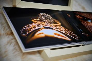 luxury wedding album by Peter Lane Photography