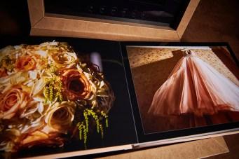 luxury wedding album custom design London