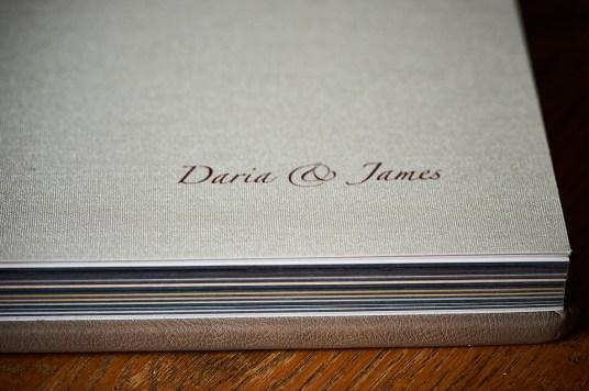 custom luxury wedding album linen ornaments