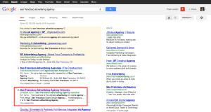 san francisco advertising agency   Google Search