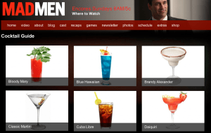 Mad Men   Cocktail Guide – AMC