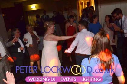 DJ at Alderley Edge hotel