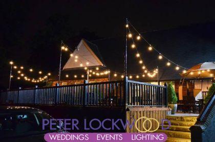 festoon lighting canopy