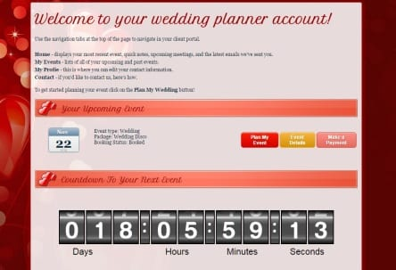 Wedding Planning Area