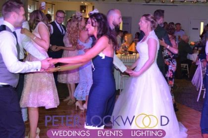 Peter Lockwood Wedding DJ in Quarry Bank Mill