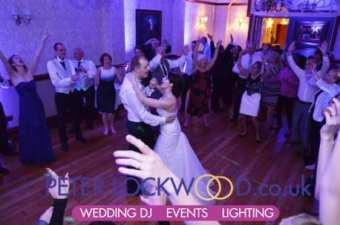 wedding dj & uplighting in nunsmere hall cheshire
