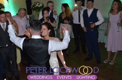 Samlesbury Hall wedding last dance