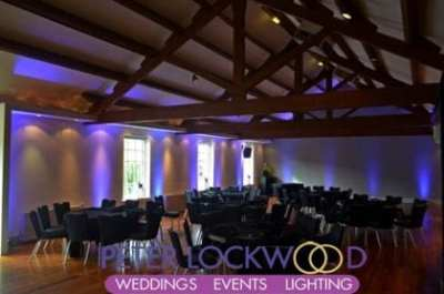 castlefield rooms wedding lighting