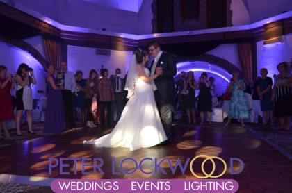 wedding-guests-watching-the-wedding-first-dance-in-tilden-suite-at-shrigley-hall-cheshire