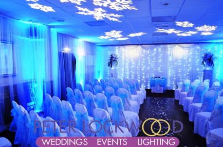 snowflakes-and-blue-lighting-for-a-winter-wonderland-wedding-at-the-millgate-oldham