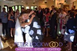 Bridge Hotel Prestbury wedding first dance with hearts