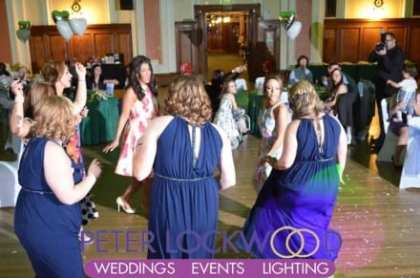 girls-just-want-to-have-fun-at-a-wedding-in-stockport-town-hall