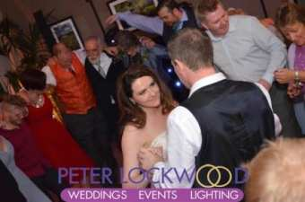 Losehill House Hotel Wedding DJ