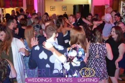 Crompton and Royton Golf Club Wedding DJ
