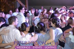 busy wedding dancefloor