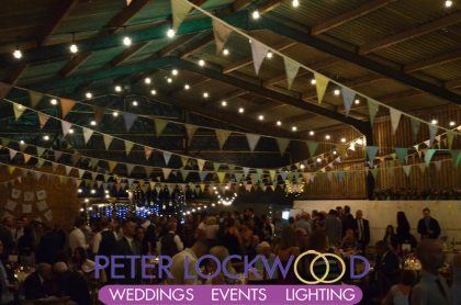Barn Weddings Lighting