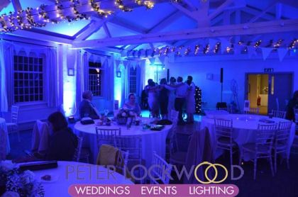 wedding uplighting in quarry bank mill