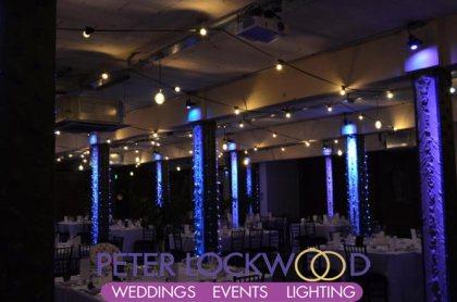 wedding festoon lighting