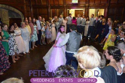 Whalley Abbey Wedding last dance