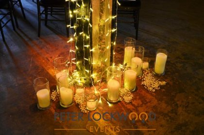 Aisle Candle Clusters