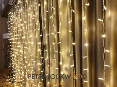 wedding fairy lights in the red hall hotel