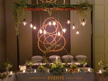 freestanding top table lighting