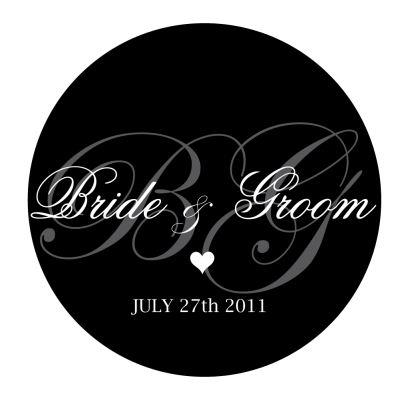 Wedding Monogram Gobo