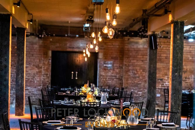 Victoria Warehouse Edison Drop Table Lighting