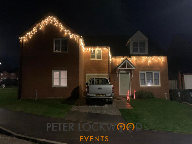 christmas fairy lights hire in manchester