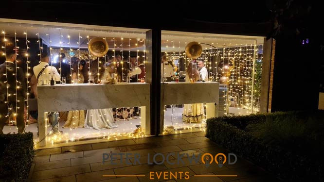 Twinkle wedding fairy lights
