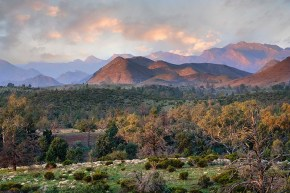 Behind The Heysen Range