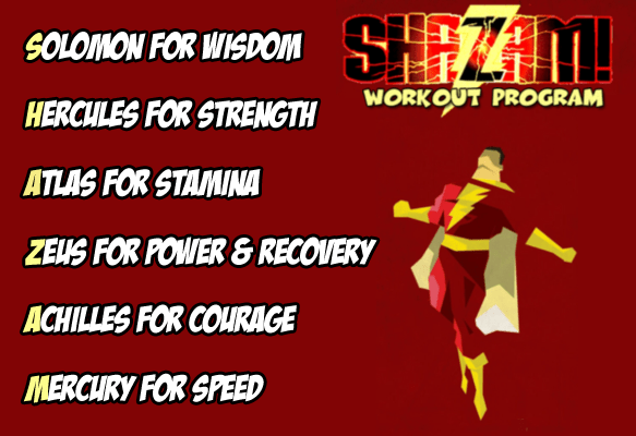 The SHAZAM! Workout Program in Westchester NY by Peter Marino