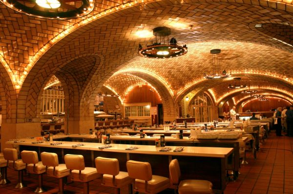 Grand Central Oyster Bar Video Peter Moruzzi' Mid-century